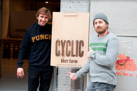 Cyclic beer farm | La Sagrera, Barcelona